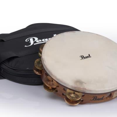 "Pearl PETM1018CR 10"" Beryllium Copper Orchestral Tambourine"