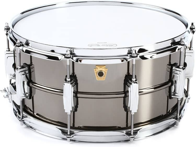 ludwig black beauty snare drum 6 5 x 14 reverb. Black Bedroom Furniture Sets. Home Design Ideas