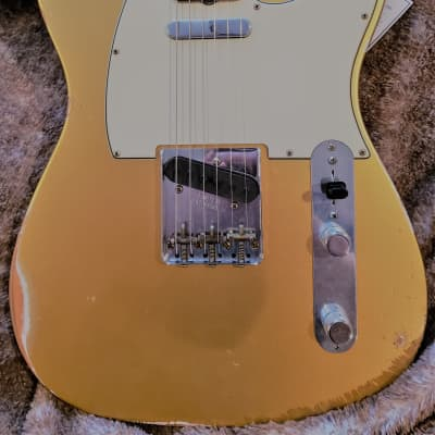 Fender Custom Shop '61 Reissue Telecaster Relic 2020 Aztek Gold for sale
