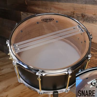 "EVANS SNARE SIDE 300 GLASS RESONANT SNARE DRUM HEAD (SIZES 8"" TO 15"") - 13"""