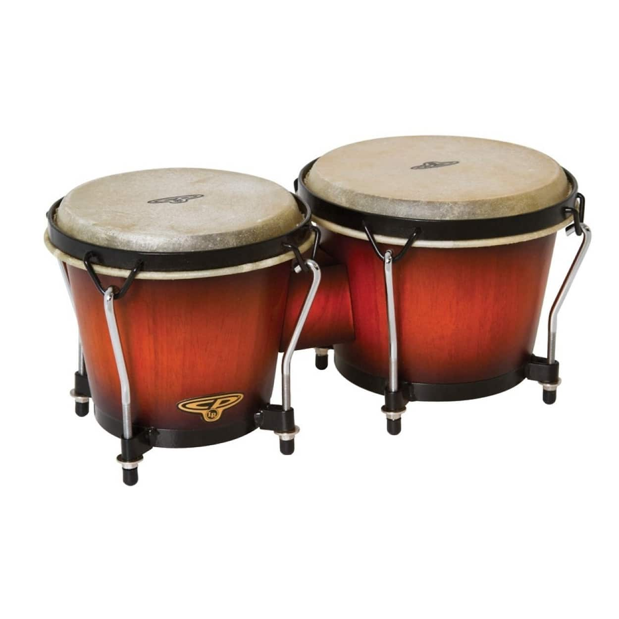 latin percussion cp221 wood bongos vintage sunburst reverb. Black Bedroom Furniture Sets. Home Design Ideas