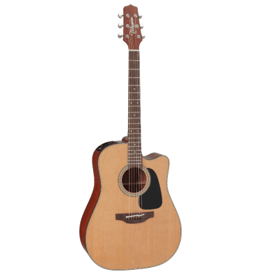 Takamine P1DC Pro Series Acoustic Electric Guitar Natural Satin Finish with Case