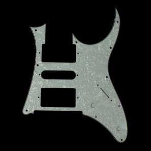 Custom Replacement Guitar Pickguard for Ibanez RG 350 DX ,4ply White pearloid