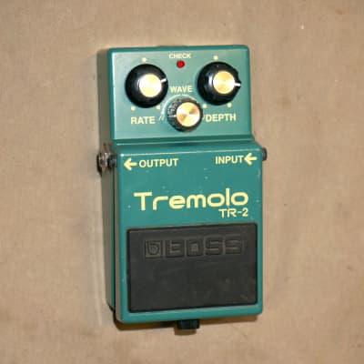 Boss TR-2 Tremolo Pedal Green