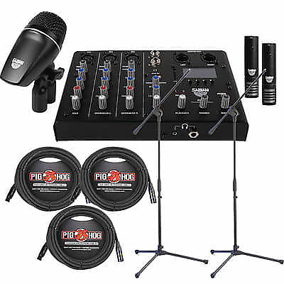 sabian sound kit drum microphone set mixer cables reverb. Black Bedroom Furniture Sets. Home Design Ideas