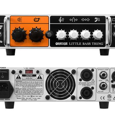 Orange Little Bass Thing 500-watt Bass Head