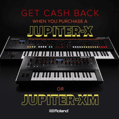New Roland Jupiter-Xm 37-Key Synthesizer - Electronic Production & Performance Under Your Arm!