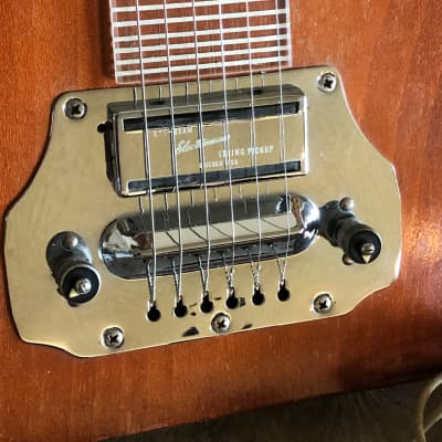 Electromuse Lap Steel Guitar 1948 Brown for sale