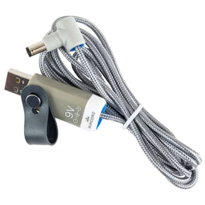 Ripcord USB to 9V RockJam RJ661 Keyboard-compatible power cable by myVolts