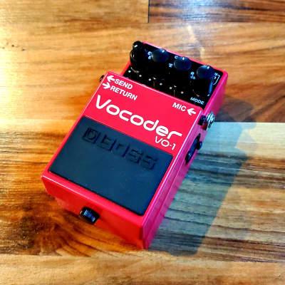 BOSS Vocoder VO-1 Vocal FX Pedal