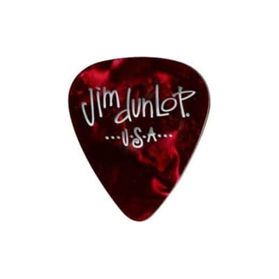 Dunlop 483R09XH Celluloid Extra Heavy Guitar Picks (72-Pack)