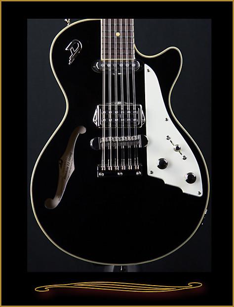 Duesenberg Mandola 12 String Black Reverb