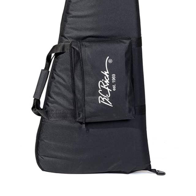 B.C. Rich BCRBVBAG gig bag for warlock/warbeast/junior v style electric guitars image