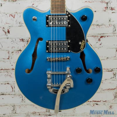Gretsch G2655T Streamliner Center-Block Jr. Electric Guitar, Fairlane Blue (USED)