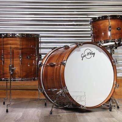 George Way Aristocrat Tuxedo Drum Set 22/13/16