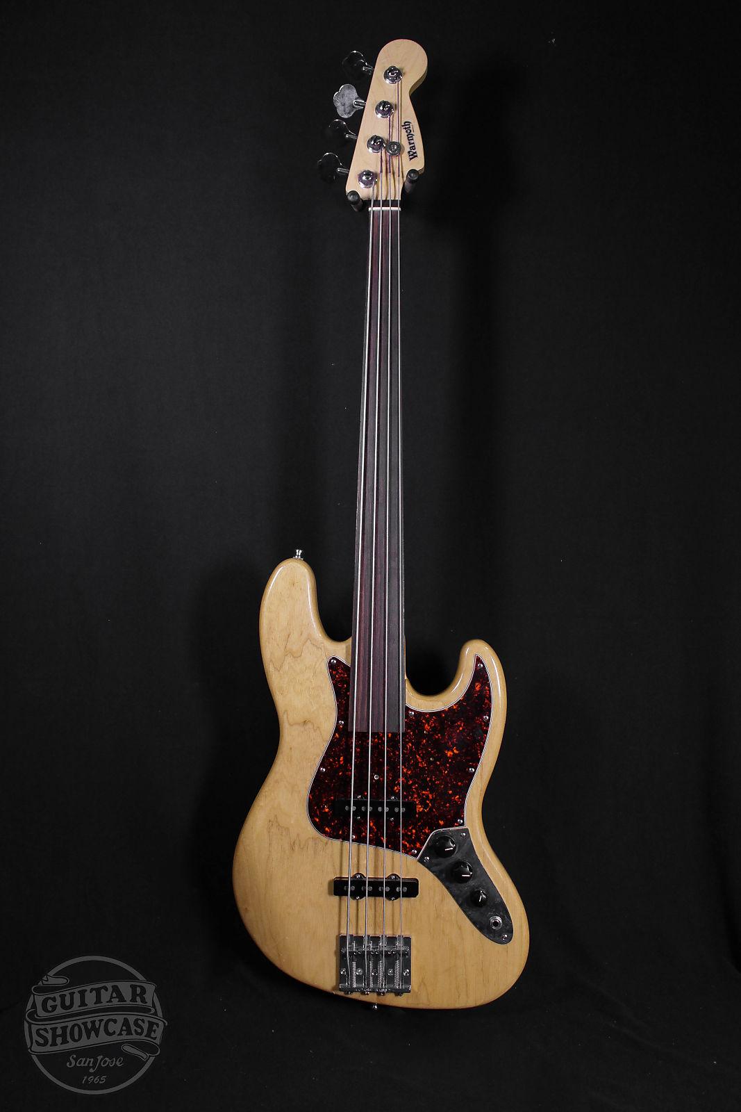 Fender 1997 American Jazz Bass Fretless [Warmoth Neck] [Natural]