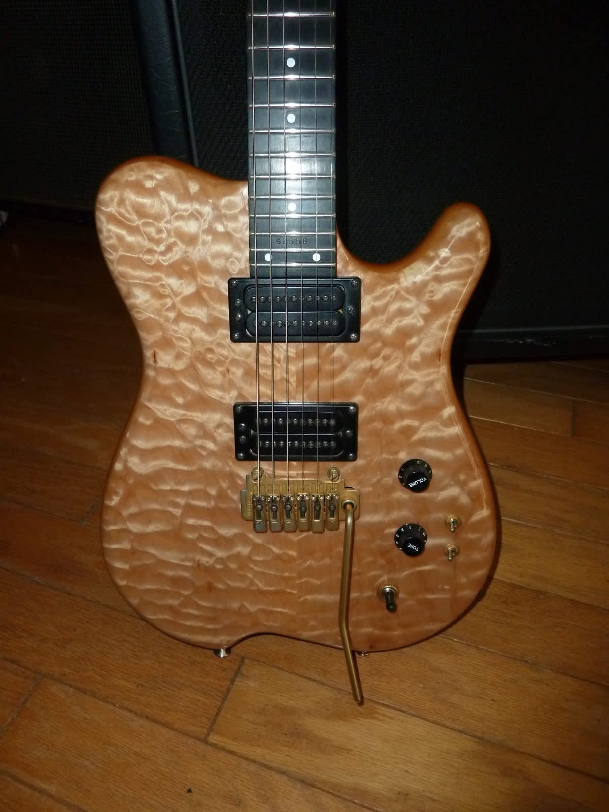 Carvin holdsworth h quilted maple ohsc reverb