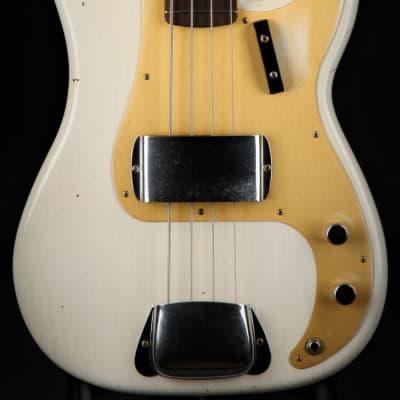 Fender Custom Shop Journeyman Relic 1959 Precision Bass - Aged White Blonde