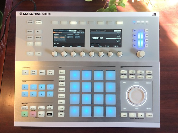 Native Instruments Maschine Studio With Full Reaktor 6 License And Maschine  Software