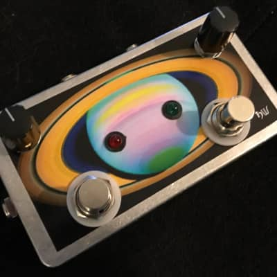 Saturnworks 2 Channel 2:1 Active Mixer Pedal for Guitar + Bass + Keyboard + More w/ on/off Switches