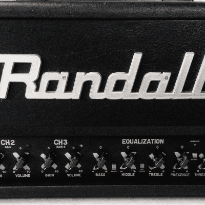 Randall RG3003H ⋆ 3-Channel ⋆ 300-Watt Solid State Guitar Amp Head ⋆ Footswitch Included! for sale
