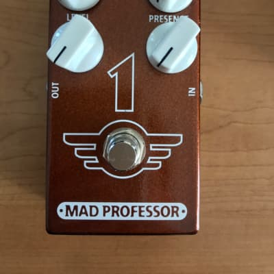 Mad Professor 1 Distortion/Reverb Pedal for sale