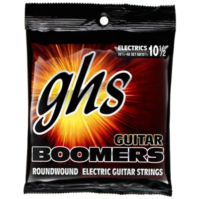 GHS Boomers Electric Guitar Strings 10.5-48, GB10 1/2
