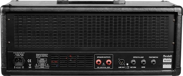 randall rg1003h guitar amplifier head 100 watts zzounds reverb. Black Bedroom Furniture Sets. Home Design Ideas