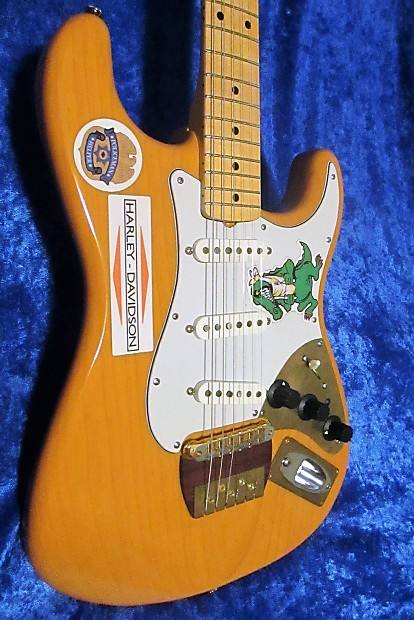 Garcia Inspired Alligator Stratocaster Style 1971 72 Replica Reverb