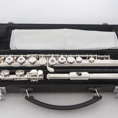Yamaha YFL-262 Silver-plated Open-hole Intermediate Flute 2020 *Cleaned & Serviced