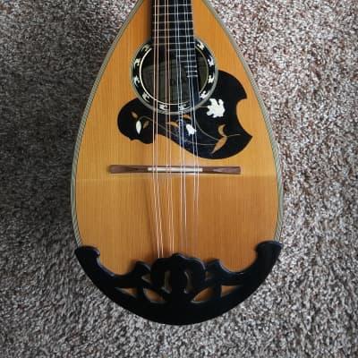 Dixon 808 1970-80s Maple Bowlback Mandolin for sale