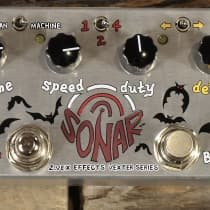 Zvex Sonar Vexter 2010s Silver w/ Graphic image