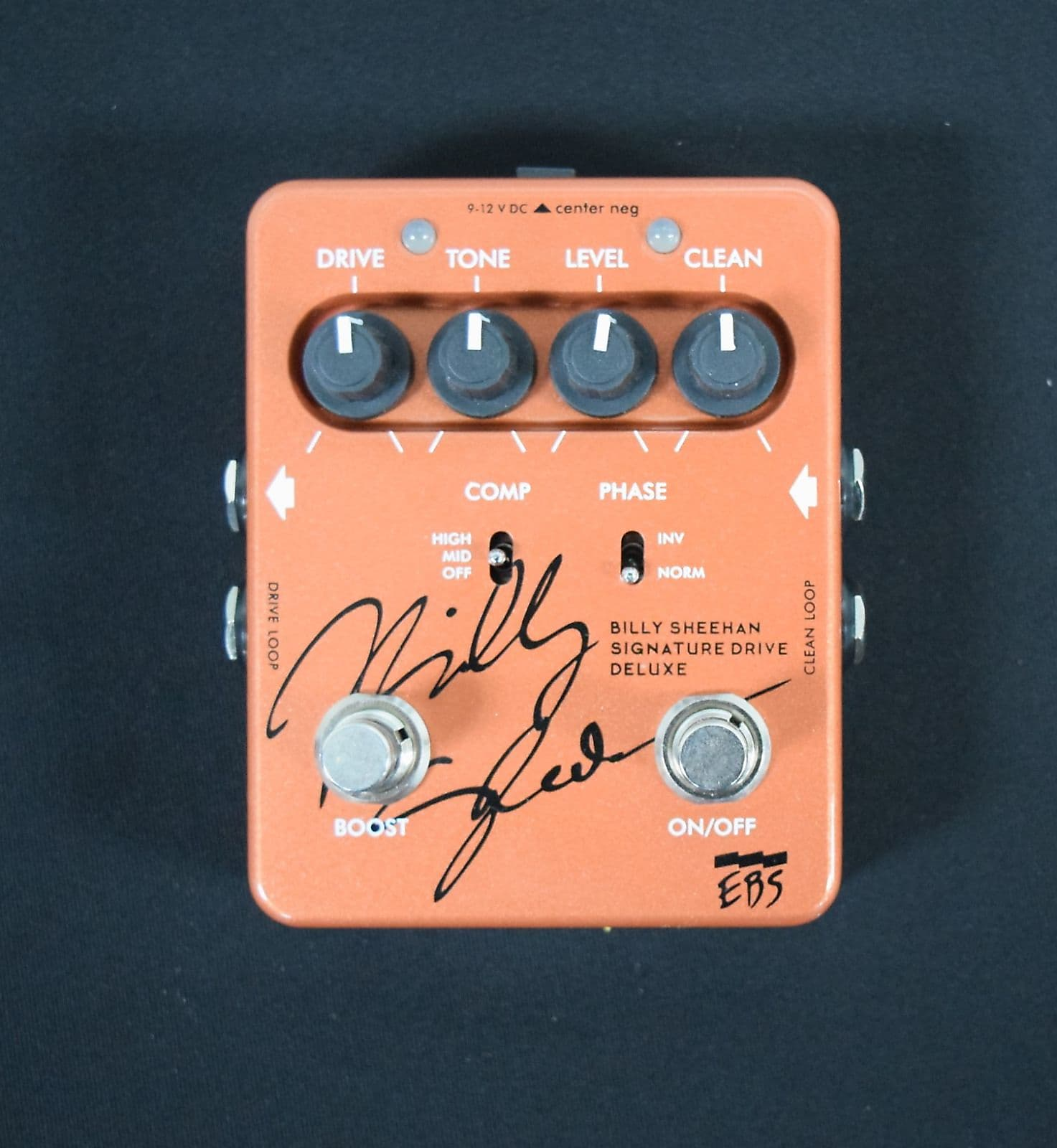 Sheehan Pre Owned >> Ebs Billy Sheehan Signature Drive Deluxe Antique Copper Not Pre
