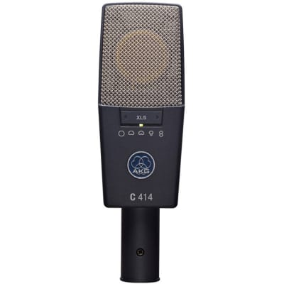 AKG C 414 XLS Large-Diaphragm Condenser Studio Microphone Set