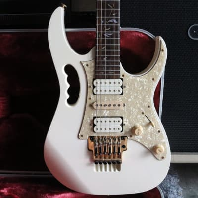Ibanez Ibanez Jem7vhw Steve Vai Signature Japan  2004  White for sale