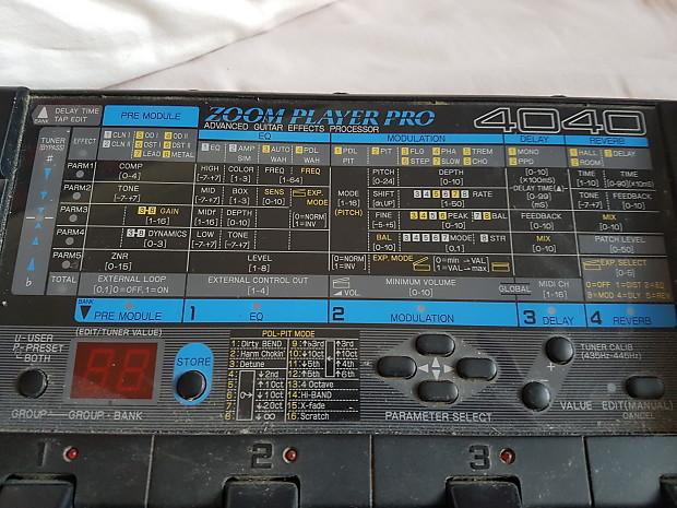 Zoom Player Pro 4040 Black/Blue | Calum's Gear Depot