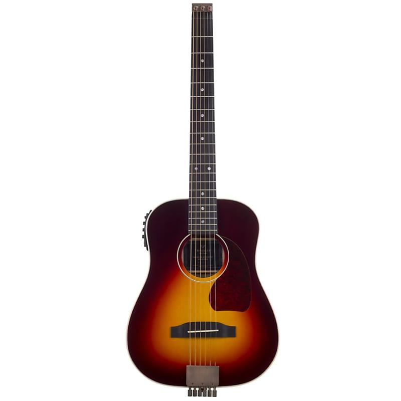 traveler acoustic ag 450eq travel acoustic electric guitar w reverb. Black Bedroom Furniture Sets. Home Design Ideas