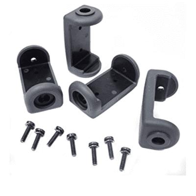 Shure- 90B8977 SLX4 wireless mic receiver hardware bumper mounting kit