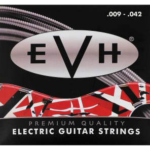 EVH 022-0150-042 942 Premium Nickel Plated Electric Guitar Strings (9-42)