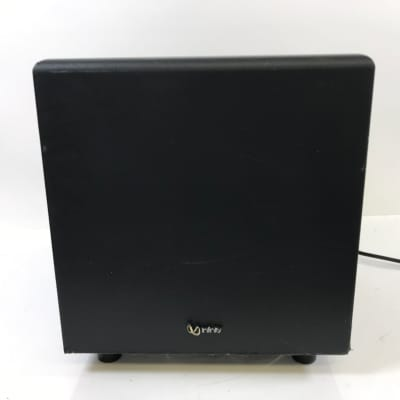 """Infinity Subwoofer BU-1 Powered 8"""" Home Audio Theater Bass Speaker Tested NICE"""