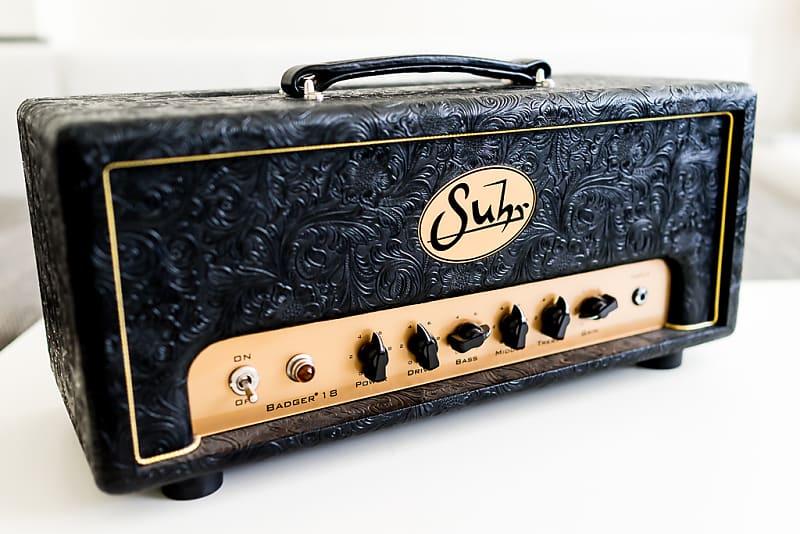 suhr badger 18 tube guitar head custom western black tolex reverb. Black Bedroom Furniture Sets. Home Design Ideas