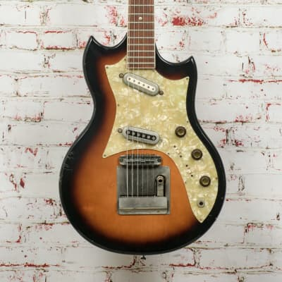 Vintage Framus Strato Electric Guitar Sunburst Made in Germany x8759 (USED) for sale