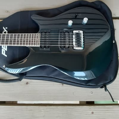 Used 1990's Peavey Impact II (2) Set Neck Electric Guitar w/ Gig Bag! for sale