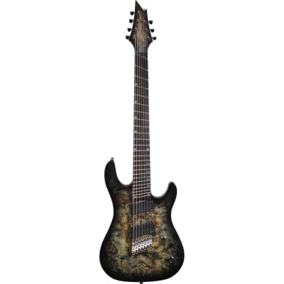 Cort KX500MS Stardust Black multiscale 7 cordes for sale