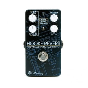 Keeley Hooke Spring Reverb Effects Pedal 2 day delivery