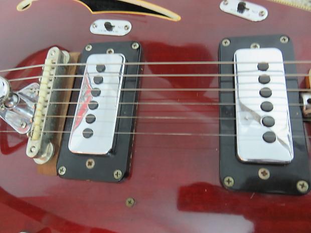 vintage 1967 vox starstream guitar wine red 6 string reverb. Black Bedroom Furniture Sets. Home Design Ideas