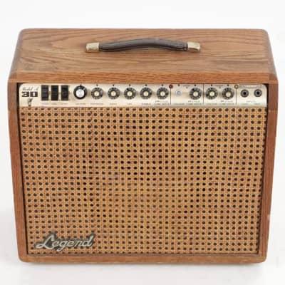 Legend Model A 30 Combo Guitar Amplifier Oak Cane Grill 1x12 G1230 #36277 for sale
