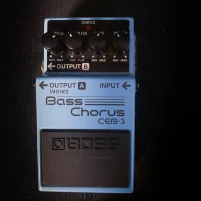 Used Boss CEB-3 Bass Chorus Pedal 040221