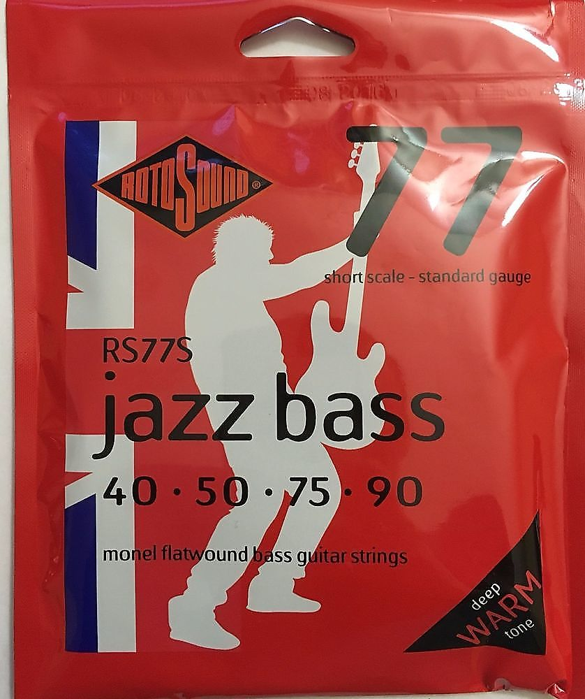 rotosound rs77s 77 jazz monel flatwound bass strings 40 90 reverb. Black Bedroom Furniture Sets. Home Design Ideas