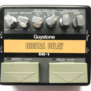 Guyatone DD-1, Digital Delay, Made In Japan, 1980's, Vintage Guitar Effect Pedal for sale